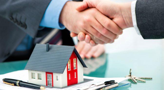 Négociation de l'achat d'une propriété